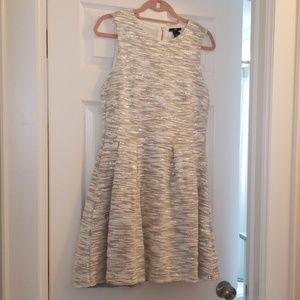 H&M Silver Sparkle Dress